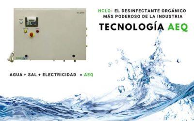 Sistemas de desinfección de aguas